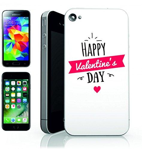 Smartphone Case 14di Febbraio di vacanza di cuori di romanticismo di coppie di fuori dal giorno di San Valentino regalo per San Valentino di San Valentino per Apple Iphone 4/4S, 5/5S, 5C, 6/6S, 7