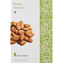 Amazon Brand - Solimo Premium Almonds, 250g