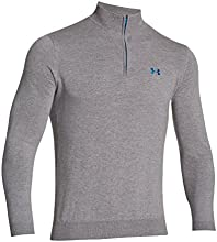 Under Armour Merino Golf Anthrazit/Alpine - Top de manga larga de running para hombre