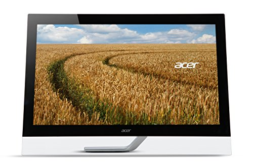 "Acer 232HLAbmjjcz Monitor, Display 10 Point Multitouch 23"" IPS, Formato 16:9, Risoluzione 1920x1080, Luminosità 300 cd/m2, Tempo di Risposta 4 ms, Speaker Integrati, Nero"