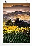 Eau Zone Home Bild - Landschaft Natur - Sonniges Toskana
