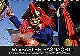 BASLER FASNACHT – Faszinierendes, schweizerisch regionales Brauchtum.CH-Version (Wandkalender 2019 DIN A2 quer): Impressionen von den «drey ... (Monatskalender, 14 Seiten ) (CALVENDO Kunst)