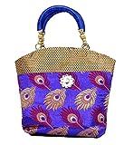 Kuber Industries Women Mini Handbag 10*10 Inches in Stylish Design ,Wedding Collection Gift