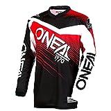O'Neal Element Racewear MX Motocross Jersey Shirt Enduro Offroad Motorrad Quad Cross Erwachsene, 0008, Farbe Rot, Größe L