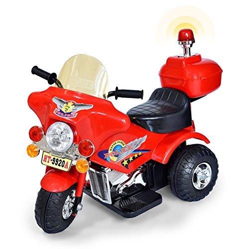 Elektromotorrad für Kinder ab 3 Jahren | Kinderfahrzeuge Elektroauto Motorrad für Kinder Elektrofahrzeuge Kinderdreirad E-Scooter Kinderroller Elektrospielzeug | Kindermotorrad mit Akku (Ab Auto Jahren Kinder 10 Für)