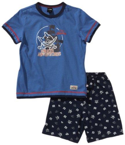 ama Kn Schlafanzug Kurz Blau (800-blau) 104 (3Y) ()