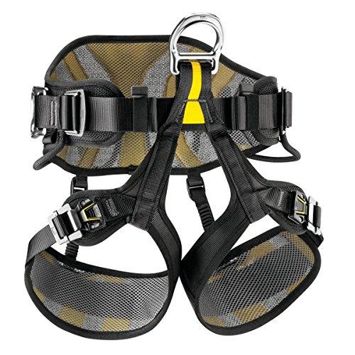 Preisvergleich Produktbild Petzl AVAO SIT Fast 2,  Black / Yellow,  2