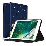 Ayotu Custodia per iPad Mini 1/2/3, Custodia Protettiva per Auto Sveglia/Sonno con Magnetica Posteriore traslucida per Apple iPad Mini 1 (2012)/ iPad Mini 2 (2013)/ iPad Mini 3(2014)-The Boy And Fox