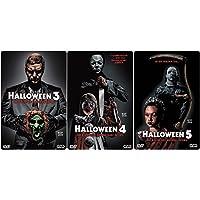HALLOWEEN Edition Teil 3 4 5 Uncut 3D Lenticular Cover Limited STARMETALPACK / STEELBOOK Collection 3 DVD Neu