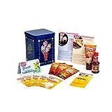 Dr. Oetker Back-Box Vanille-Träume Jubiläumsedition Vanillearoma, 6 Sorten mit Rezeptideen
