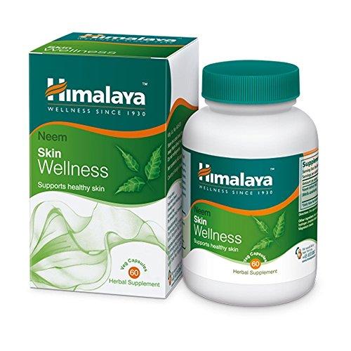 Himalaya Wellness Neem Blood Detox Supplement für eine gesunde leuchtende Haut Skin und allgemeine Wellness - 60 vegetarische Kapseln (2-Pack)