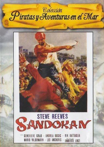Sandokan The Great (1963) - Region 2 PAL, plays in English without subtitles by Steve Reeves