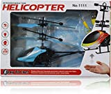 #8: Akshat Quadcopter Flying Mini RC Infrared Induction Helicopter Aircraft Flashing Light Toy red Helicopter Toys Helicopter Remote Control Low Price Helicopter Toys Helicopter Accessories