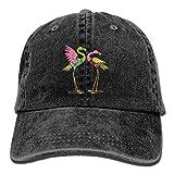 VPausy Lovely Pink Flamingos Fashion Berretto da Baseball Regolabile Cappello Mamma papà