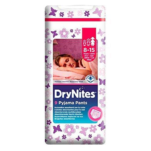HUGGIES Pannolini Bimbi Drynites Girl 8-15 Anni 9 Pz.27-57KG