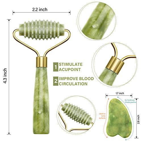 Zoom IMG-2 4 pacchi jade roller kit