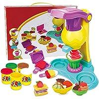 Wovemster Hecho a mano diy molde de hielo set niños helados juguete comida postres pastel playset