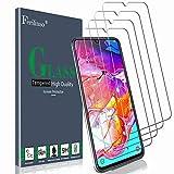 Ferilinso Verre Trempé pour Samsung Galaxy A70,[4 Pièces] Protection écran Vitre Tempered avec Garantie de Remplacement à Durée de Vie