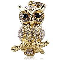 818-Shop No28200020032 USB-Sticks (32 GB) Vogel Eule Ast Metall 3D gold