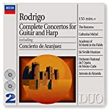 Rodrigo : Complete Concertos for Guitar and Harp