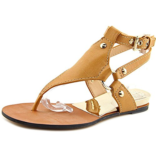 Vince Camuto Adalina Cuir Sandale Sand Trap