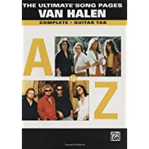 The Ultimate Song Pages Van Halen: Complete, Guitar Tab