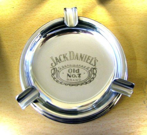 Jack Daniels Aschenbecher aus Zinn