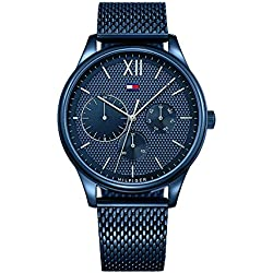 Tommy Hilfiger Analog Blue Dial Men's Watch