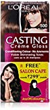#6: L'Oreal Paris Casting Creme Gloss Hair Color, 5 Medium Brown, 159.5g with Free Salon Cape (Worth Rupees 299)