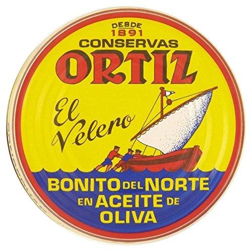 Brindisa Ortiz Les Filets De Thon À L'Huile D'Olive 158G - Paquet de 6