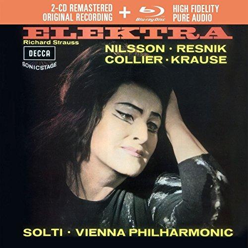 Strauss: Elektra (Livre Disque - 2CD + Blu Ray Audio - Tirage Limité)
