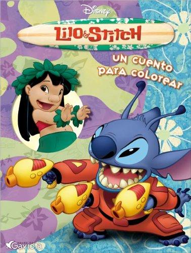 Lilo & Stitch. Un cuento para colorear