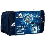 Adidas Champions Edition EDT 100ml + Shower Gel 250ml + Deo Spray 150ml + Kosmetiktasche