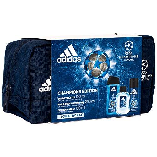 b7e748b794de Adidas – Set 3 Prodotti UEFA Arena Edition - Eau de Toilette 100 ml ...