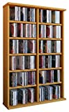 VCM 50443 Regal Schrank DVD CD Rack Medienregal Medienschrank Aufbewahrung Holzregal Standregal Möbel in 6 Farben