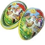 Set of 2 Vintage Easter Scene Egg Cases, Easter Gift