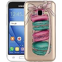 Housse Etui Coque Pour Samsung Galaxy J1 (2016) / J120, Macarons Pattern IMD Workmanship Soft TPU Housse de protection ( SKU : SAS0189A )