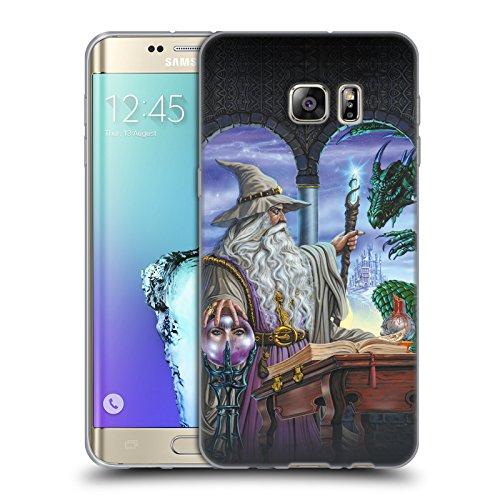 Offizielle Ed Beard Jr Botschafter Drachen Von Dem Zauberer Fantasie Soft Gel Hülle für Samsung Galaxy S6 edge+ / Plus