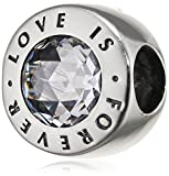 PANDORA - Charm Love is Forever PANDORA 791813CZ