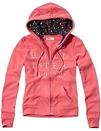 Hollister - Femme - Floral Print Graphic Fleece Hoodie Sweat à Capuche Sweatshirt - Manche Longue