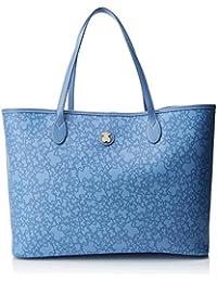 Tous Kaos Mini Super Gran, Bolso Totes para Mujer, Azul (Jeans), 14x29x40 cm (W x H x L)