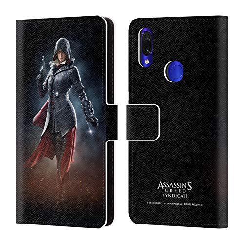 fizielle Assassin's Creed Evie Frye Verband Kunst Charakter Leder Brieftaschen Huelle kompatibel mit Xiaomi Redmi Note 7/7 Pro ()