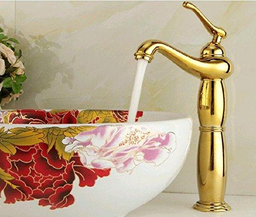 cnbbgj cromado cobre golden Jade líder de alta gama Continental antiguo lavabo sobre encimera grifo baño grifo grifo de la cocina