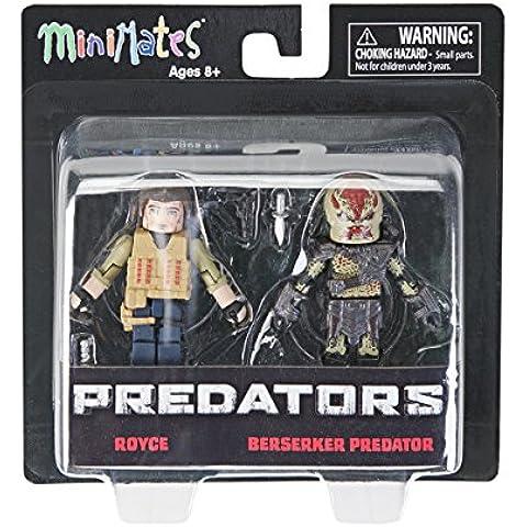 Predator 2 Minimates Royce & Berserker Predator Mini Figuras