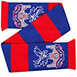 Official Crystal Palace Crest Football Fans Bar Scarf (Licensed Souvenir)