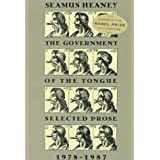 GOVERNMENT OF THE TONGUE PB by Seamus Heaney (1976-01-01)