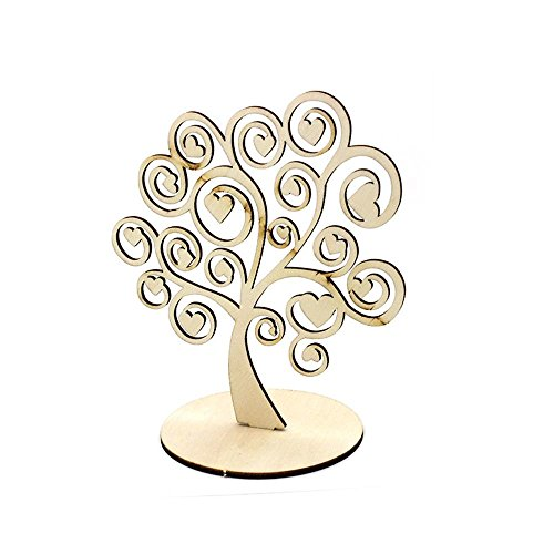 Ruby-portacandele in legno portacandele tree of life a forma di display home kitchen decor (c-s)
