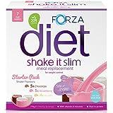 FORZA Shake It Slim – Pack de batidos sustitutivos de comida – Batido Saciante – 14 sobres