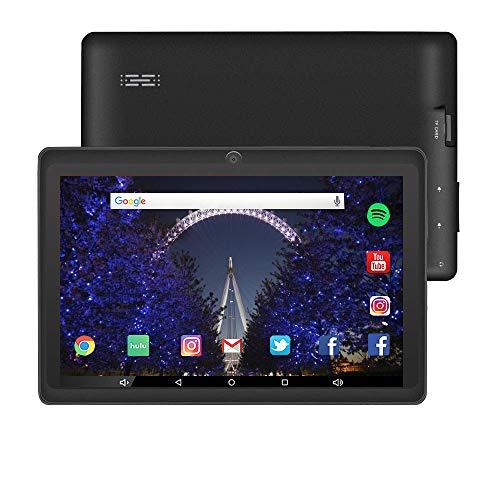 Tablet da 7 Pollici Google Android 8.1 Quad Core 1024x600 Dual Camera Wi-Fi Bluetooth 1GB/8GB Play...