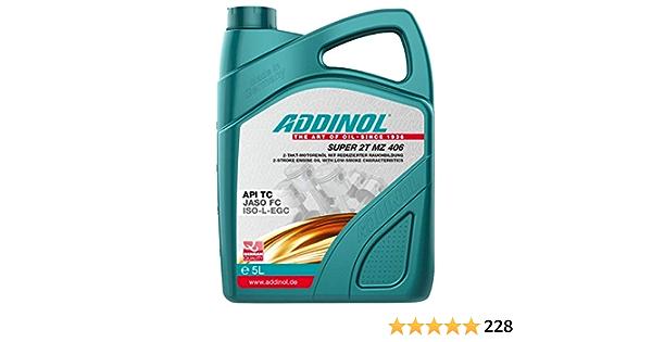 Addinol Motoröl Motorenöl Motor Motoren Motor Oil Engine Oil 2 Takt Super 2t Mz 406 5l 72400981 Auto